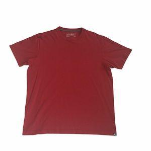 Red Eddie Bauer tee shirt, large, GUC